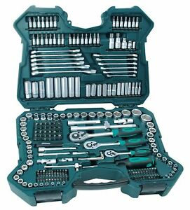 Mannesmann Socket Set 215 Pieces Tools Made With Chrome vanadium Special Steel