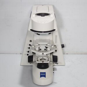 Carl Zeiss Axioskop 2 Mot Motorized Microscope Body stand W Light Manager