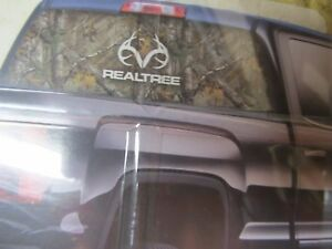 Realtree Xtra Camo Antler Logo Window Film Graphics Mid Or Full Size Truck