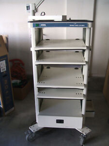 Karl Storz 9601 A x mfa Mobile Endoscopy Video Imaging Cart tower nice clean