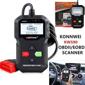 Kw590 Obdii Obd2 Eobd Auto Car Engine Scanner Code Reader Diagnostic Scan Tool