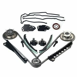 Timing Chain Kit cam Phasers cover Gasket Fits 04 08 Ford F150 Lincoln 5 4l 3v