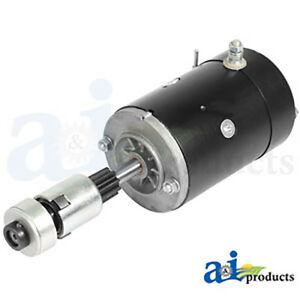 12 Volt Starter Replacement 8n11001r D8nn11350ba 12v For Ford Tractors 8n 9n 2n
