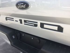 Tailgate Word Inserts For 2015 2020 Ford F150