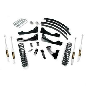 Trail Master 6 0 Inch Lift Kit W Rear Add A Leafs W Ngs Shocks Tm413n