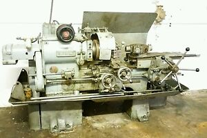 Gisholt 4 Turret Lathe Milling Machine 3 Phase Serial Number 2874 27 Usa