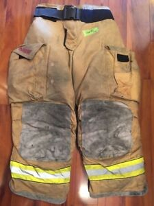 Firefighter Turnout Bunker Pants Globe 36x30 G Extreme Halloween Costume 2005