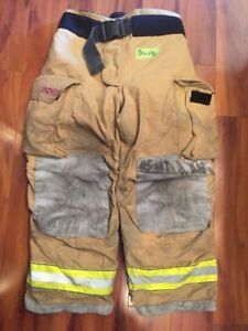 Firefighter Bunker Turnout Gear Pants Globe 38x28 G Extreme Costume 2007