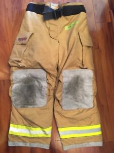 Firefighter Bunker Turnout Gear Pants Globe 42x30 G Extreme Halloween Costume 07