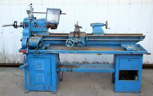 Atlas Clausing Lathe Machine 6350 1 1 2hp 208 220 480v