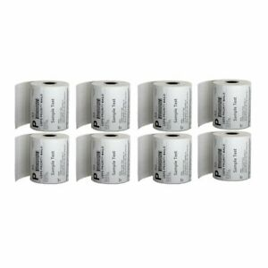 8 Rolls 2000 4x6 Direct Thermal Shipping Labels 250 roll For Zebra Zp450 Eltron