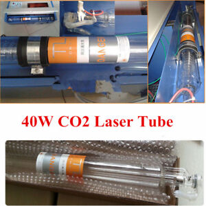 Co2 Laser Tube 700mm 40w Glass Pipe For Engraving Cutter Machine Water Cooling