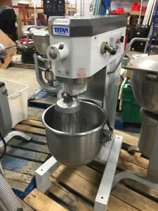Titan Gp630f Mixer Dough Mixer Model 630 30 Qt With Whip Whisk