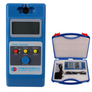 Us Tesla Meter Gaussmeter Surface Magnetic Field Tester wt10a With Ns Function