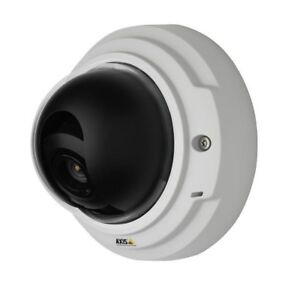 New Sealed Axis P3346 Fixed Dome Ip Network Camera 0369 001 3mp 1080p