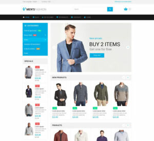 Elegance Magento Shop Theme Build Fashion Clothing E commerce Shopping Website