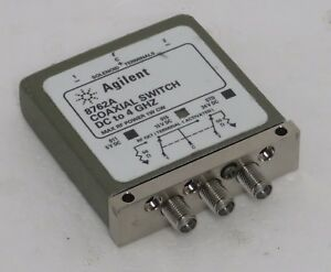 Agilent 8762a Coaxial Switch Dc To 4 Ghz Opt 015