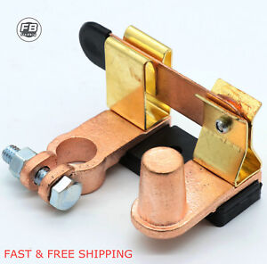 Heavy Duty Shut Off Switch Battery Disconnect Knife Blade Switch Top Post