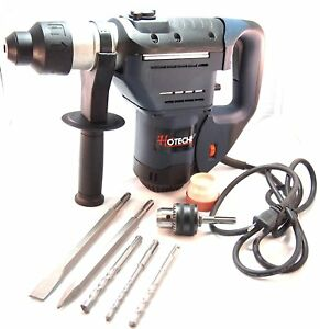 1 1 2 Sds Plus Rotary Hammer Drill 3 Functions