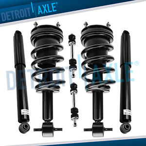6pc Front Strut Rear Shock Links 2007 2013 Chevy Silverado 1500 Gmc Sierra 1500