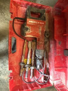 Hilti Te 805 Heavy Duty fast Shipping very Powerful 120v Electric Demo Hammer