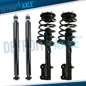 Front Struts Rear Shock Absorbers 2005 2008 2009 2010 Ford Mustang Base Gt