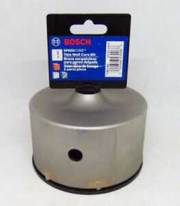 Bosch Tool New T3921sc 4 3 8 In Sds plus Speedcore Thin wall Core Bit