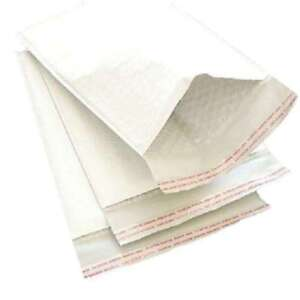 4 X 8 000 White Kraft Bubble Mailer Packaging Supplies Bags 2500 Pieces