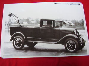 1930 1931 Ford Aa Tow Truck 11 X 17 Photo Picture