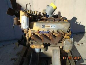 Caterpillar 3208 Nat Engine Complete Good Running A Esn 62w35470 Ar 9n5149