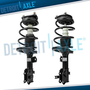 2 Front Strut Coil Spring For 2006 2007 2008 2009 2010 2011 Hyundai Accent 1 6l