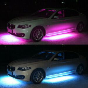 2x 6 5ft Led Light Strip For Cars Waterproof Ip68 Dream Color Chasing Blue tooth