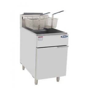 Commercial 70lb Fryer Frialator Deep Fryer Brand New Nat Gas Or Lp Gas