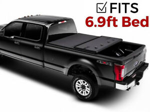 Extang Solid Fold 2 0 Tonneau Cover 2017 2019 Ford Super Duty F250 F350 6 9 Bed