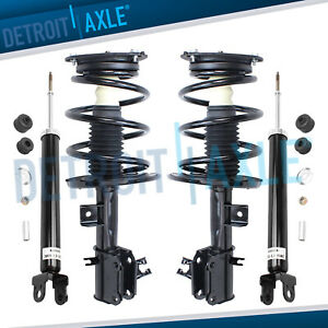 2009 2014 Nissan Maxima Front Spring Struts Assembly Rear Shock Absorbers Set