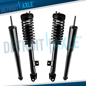2005 2010 Dodge Charger Magnum Chrysler 300 Front Strut Rear Shock 4pc Rwd