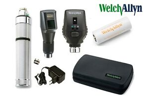 Welch Allyn Combined Set 3 5v Streak Retinoscope Ophthalmoscope rechargeable