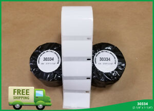 Dymo Turbo Compatible 10 Rolls White Address 30334 Return 1000 Labels Per Roll
