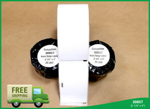 12 Roll Of 30857 Labels Internet Postage Compatible Dymo Labelwriters Printer