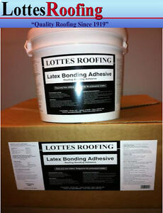 5 4 Gal Latex Epdm And Tpo Rubber Roofing Glue Bonding Adhesive