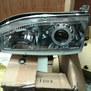 Black Housing With Clear Headlight For 1992 94 93toyota Camry Side Light
