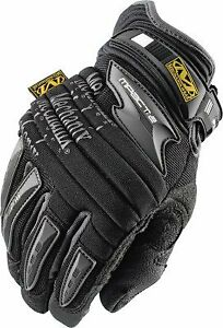 X large Mechanix Impactii Glove Black
