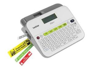 Brother P touch Pt d400 Label Maker New In Box Easy To Use White Label Printer