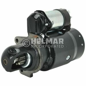 Hyster Forklift Starter 1335326 new Straight Drive yes Gear Reduction No Volt 1