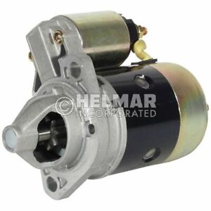 Hyster Forklift Reman Starter 1362069 Straight Drive yes Gear Reduction No Volt