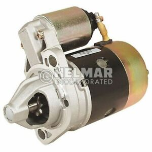 Hyster Forklift Starter Heavy Duty 1362069 hd Straight Drive yes Gear Reduction