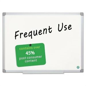 Earth Gold Ultra Magnetic Dry Erase Boards 48 X 72 White Aluminum Frame