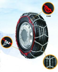 Grizzlar Gdt 55 Alloy Diamond Truck Cam Tire Chains 315 70 22 5