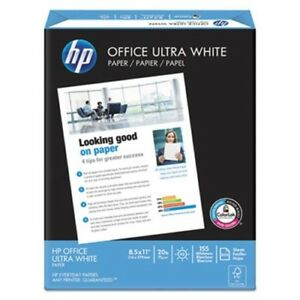 Office Ultra white Paper 92 Bright 20lb 8 1 2 X 11 500 ream 10 carton