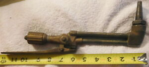 Vintage Airco 373 50 sa Brass Oxygen Acetylene Torch 1301 Cutting Tool 4890